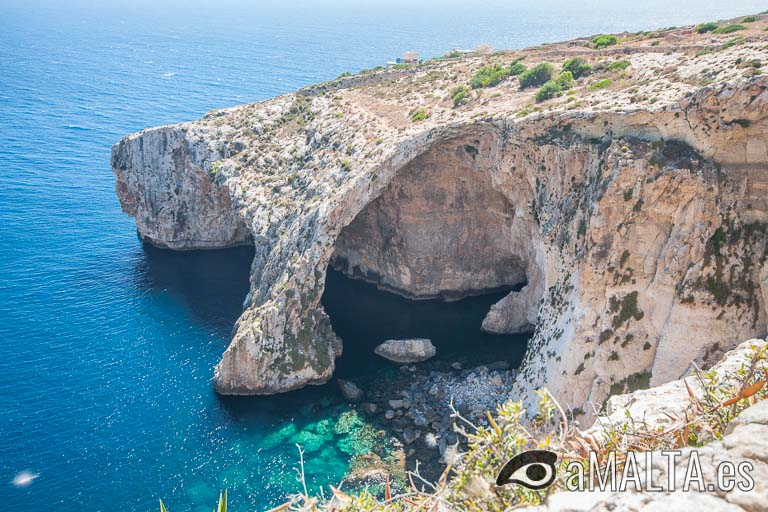 Panorama de Blue Grotto
