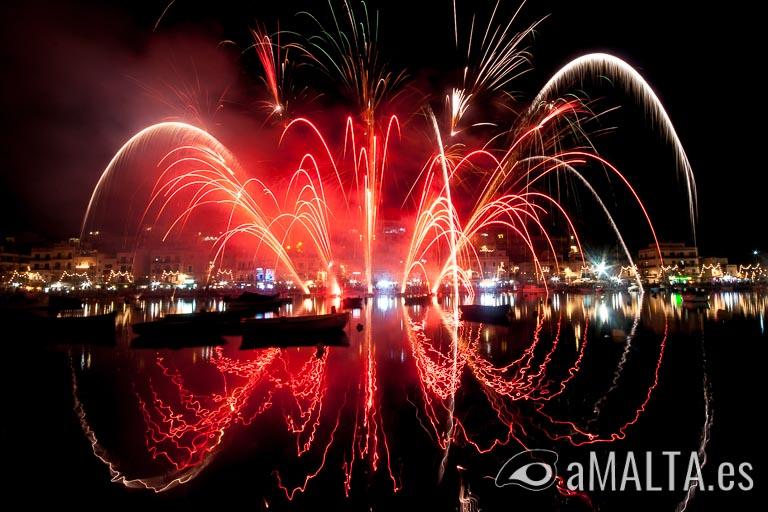 fiesta de Santa Ana en Marsaskala