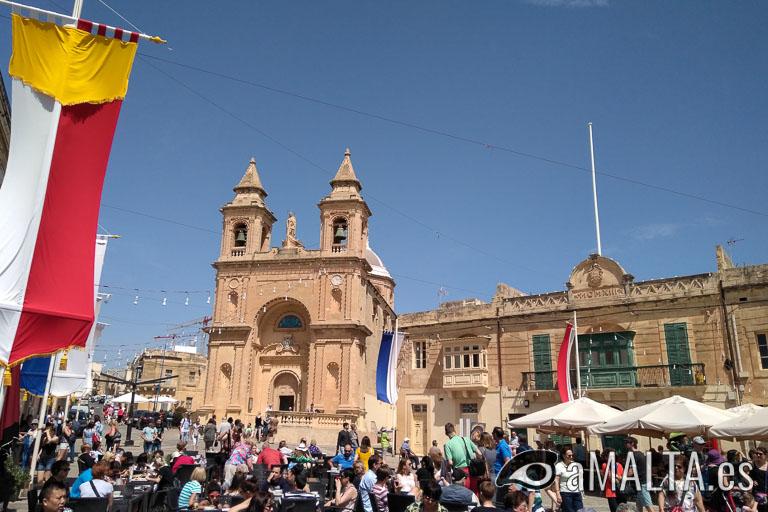 Iglesia de la Madonna ta' Pompej en Marsaxlokk