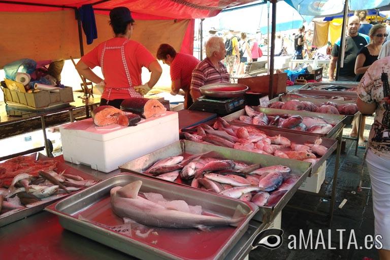 mercado dominical de Marsaxlokk