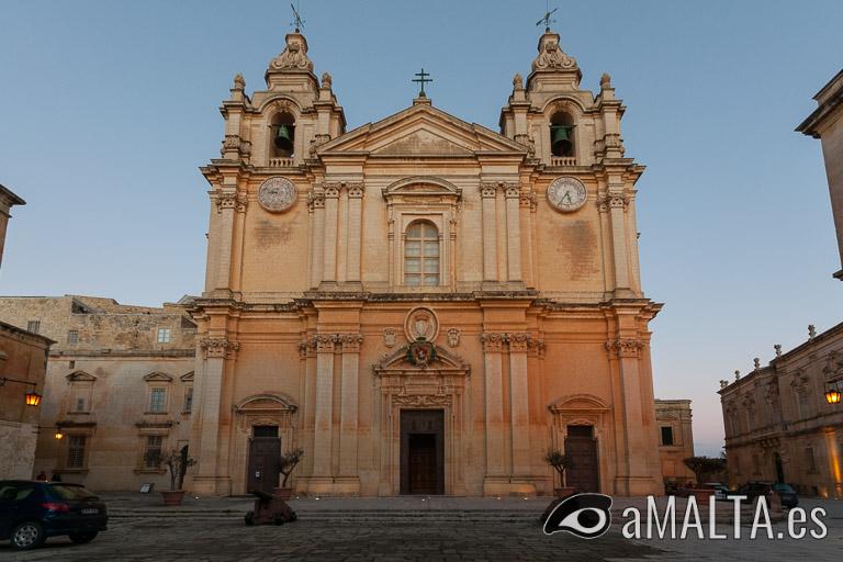 Catedral de San Pablo en Mdina