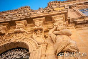 entrada al museo de la catedral de San Pablo de Mdina