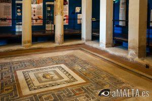 interior Domus Romana en Rabat