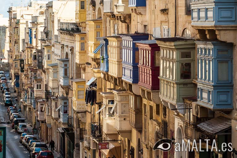 Calle de la Republica en Valeta