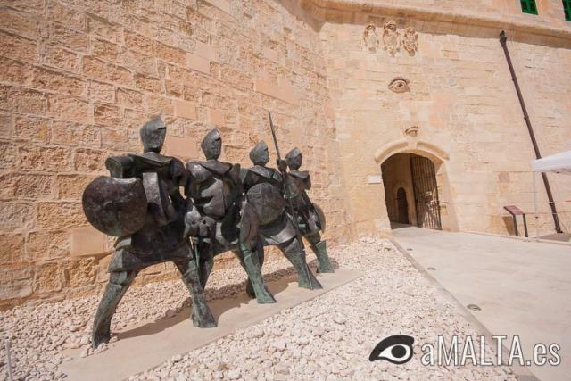 """entrada de la """"Porta del Soccorso"""""""